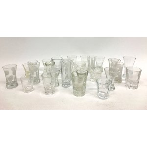 VICTORIA VINTAGE SHOT GLASSES