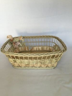 Vintage card Basket