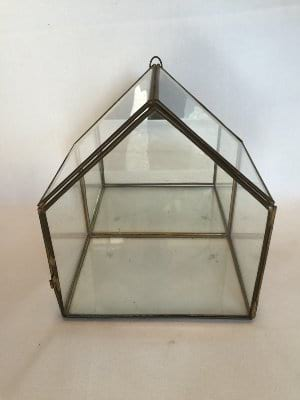 Glass terrarium box LARGE