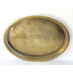 Brass tray 18
