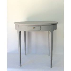 GAVON GRAY SIDE TABLE