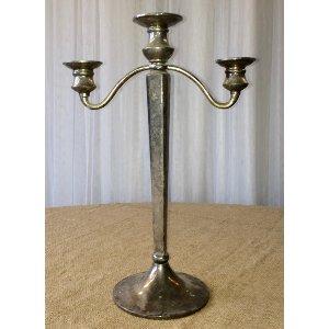 Sany Silver candelabra