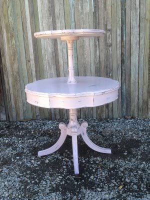 PIETRA PINK TIERED TABLE