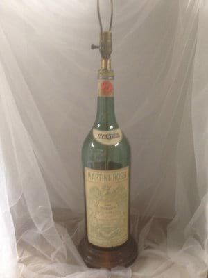Vintage Martini and Rossi Lamp