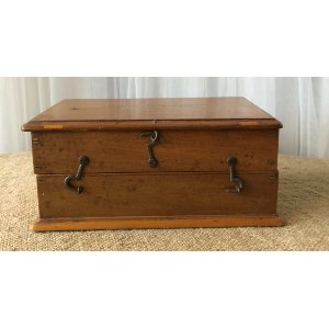 Wooden Box with latch