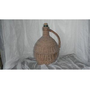 Vintage Wicker Chianti Bottle