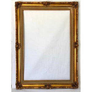 FRANNIE GOLD AND IVORY FRAME