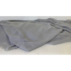 Gray fabric chiffon (10 yards)