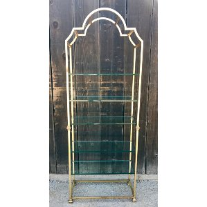 Arched Gold shelf