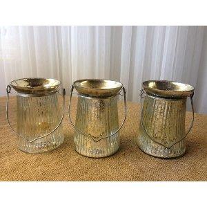 Mercury Glass with handles