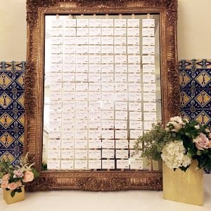 MATILDA LARGE GOLD FRAME WITH MIRROR