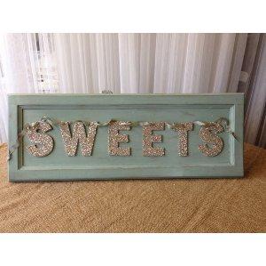 Aqua Sweet Sign