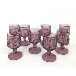 SMALL PURPLE GOBLET