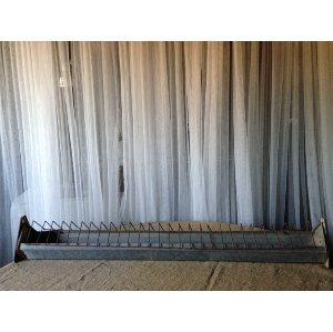 Galvanized Long Metal Tray