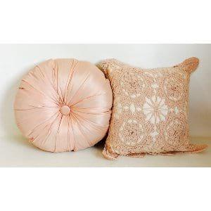 Piper pink pillows