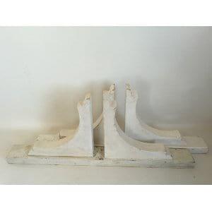 Medium White Stands