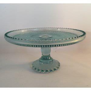 Mason jar blue cake Plate 9