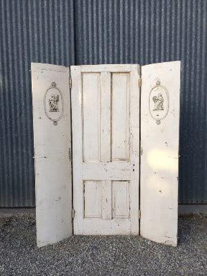 DANICA CREAM DOOR SET