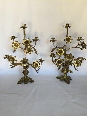 Fancy Brass Candeabra