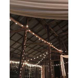 Extra Globe String Lighting for Barn