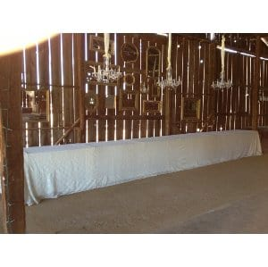 Extra Long Lace Tablecloth