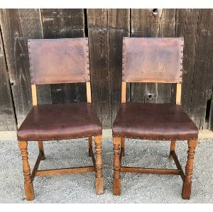 CHAD LEATHER CHAIR