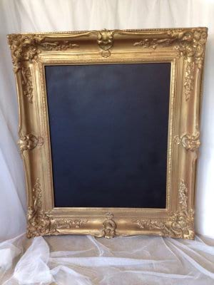 SIGNS AND FRAMES EMBELLISH VINTAGE RENTALS INVENTORY | Embellish ...