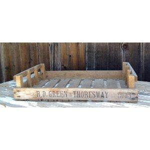 wood Vegetable Crate