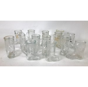 VIANE VINTAGE BOOT SHOT GLASSES