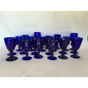 Colbalt Blue Goblets