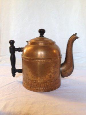 Copper tea kettle vessel