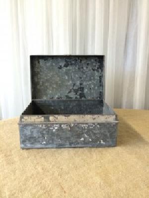 GEMMA GALVANIZED BOX