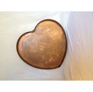 Copper Heart Tray
