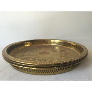 Brass Tray 15 in