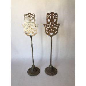 decorative filagree stand