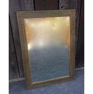 MAURICE GOLD FRAMED MIRROR 24 X 36