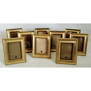 Small gold frames