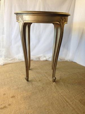SABINE SMALL GOLD TABLE