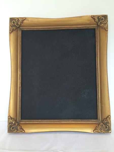 Gold 11 x 13 Chalkboard Frame