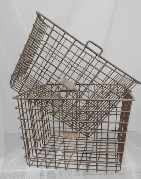 Vintage Gym Baskets