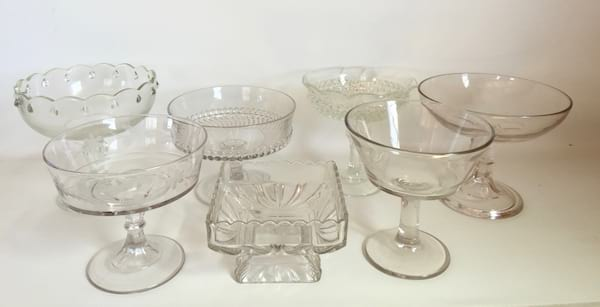 CADENCE GLASS COMPOTE (LARGE)