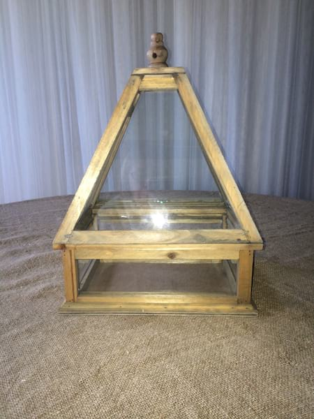 Wood Framed Terrarium