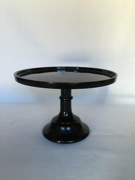 "Black Cake Stand 9.5"""