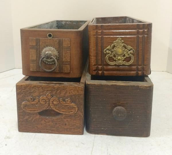 BAILE Vintage Sewing Boxes