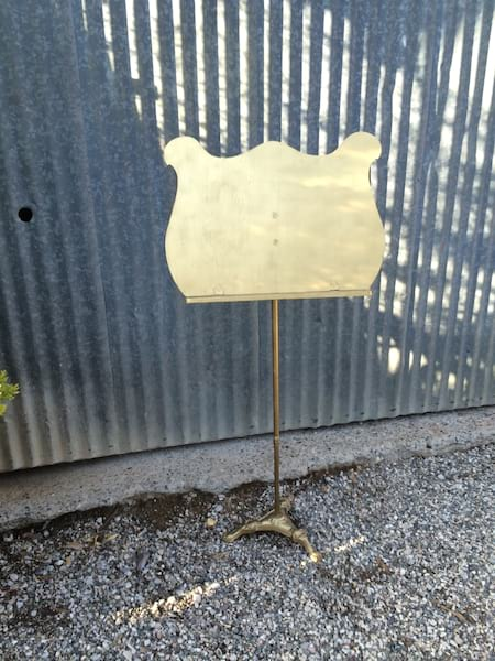 Gold Music Stand