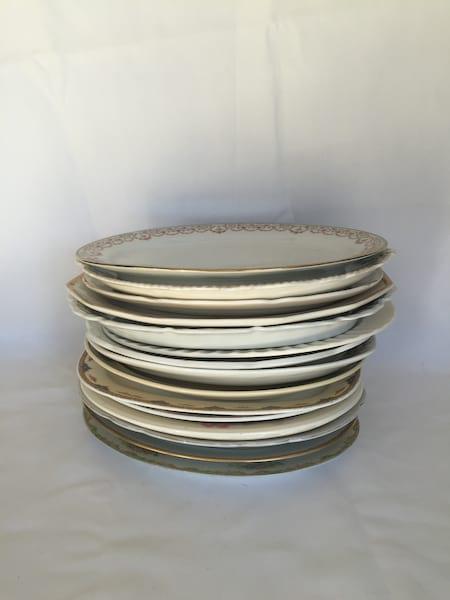 Large Vintage Platters