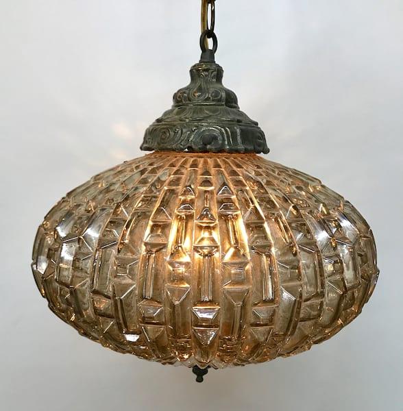 Laudree Silver hanging light