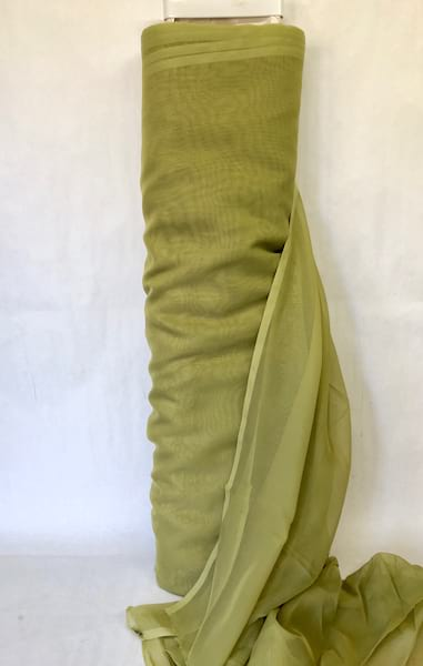 TYRION OLIVE GREEN VOILE
