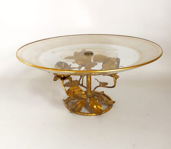 FABIANNA GOLD ROSES CAKE STAND
