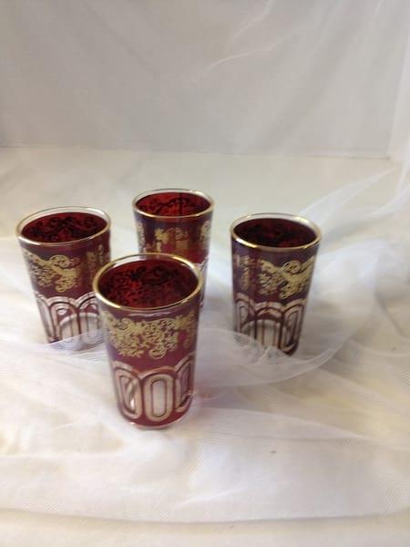 Purple Moroccan Style Vases